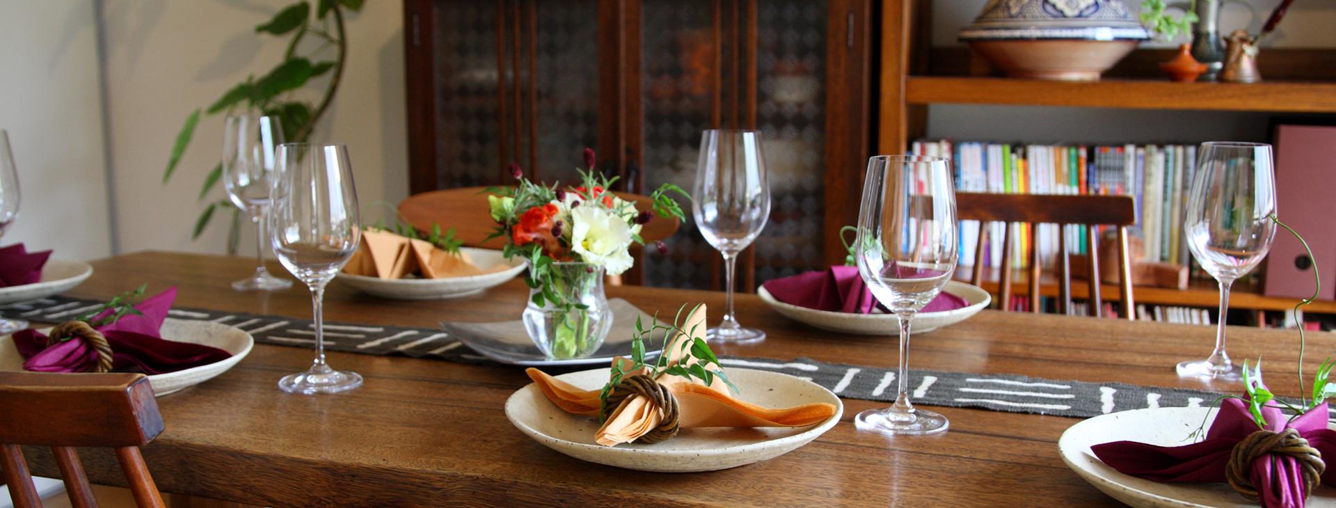 Wakka Kitchen : 佐藤わか子の自宅で学ぶ各国料理教室